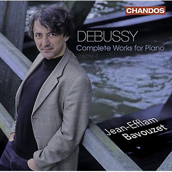 A. Debussy - Debussy: Complete Works for Piano, Vol. 4 [CD] USA import
