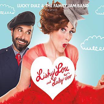 Diaz*Lucky & the Family Jam Band - Lishy Lou & Lucky Too [CD] USA import