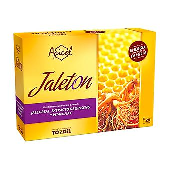 Apicol Jelly 20 vials of 10ml