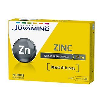 Oligo-Element Zinc 20 ampoules of 5ml
