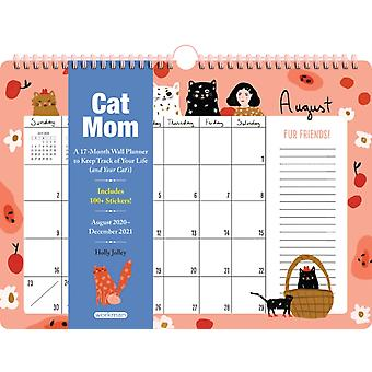 Cat Mom 17Month Wall Calendar 2021 by Workman Publishing & Holly Jolley & With Workman Calendars