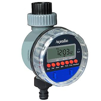 Electronic Lcd Display Automatic Watering Timer, Home Garden Ball Valve,