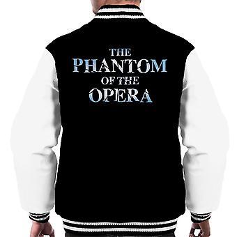 The Phantom Of The Opera Text Logo Men's Varsity Jacket