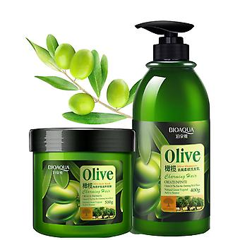Hair Mask Treatment Oilve Hair Conditioner Cleaning Nourish Repair
