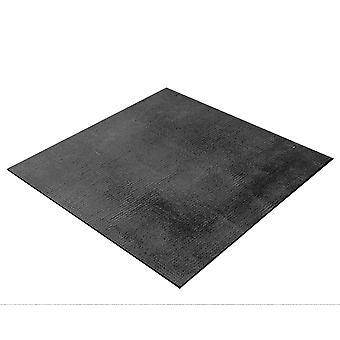 BRESSER Flatlay Achtergrond voor het leggen van foto's 60x60cm stof zwart/grijs