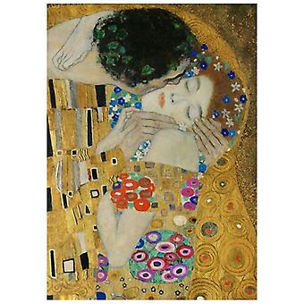 Print on canvas - The Kiss (Detail) - Gustav Klimt - Painting on Canvas, Wall Decoration