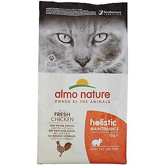 Almo Nature Holistic Maintenance Cat Dry Food With Chicken And Rice - 12kg