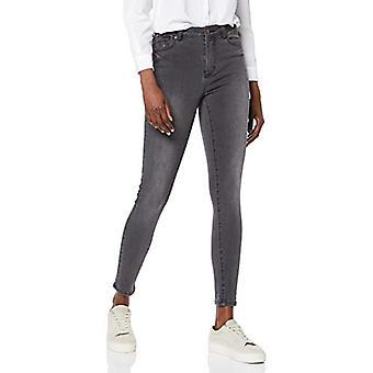 find. Women's Skinny Mid Rise Jeans, Grey, W28 x L32