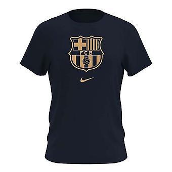2020-2021 Barcelona Evergreen Crest Tee (musta)