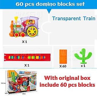Motorized Domino Train Car Kit Bridge Set - Educational Intelligence Toys