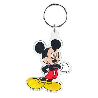Lucite Key Chain - Disney - Mickey Mouse Standing New Gifts Toys 25096