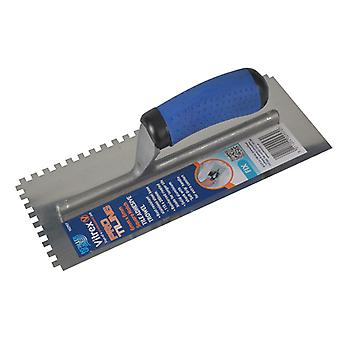 Vitrex Professional Notched Adhesive Trowel 6mm SS 11x4.1/2