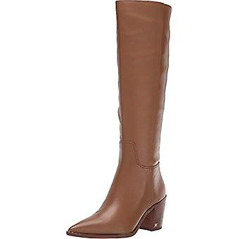 Sam Edelman Women's Shoes Lindsey Leather Closed Toe Knee High Fashion Boots