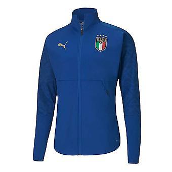 2020-2021 Italie Stadium Home Jacket (Bleu)