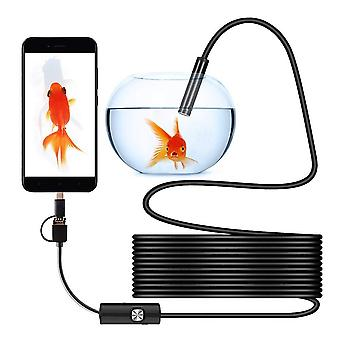 Waterproof Mini Camera Usb Endoscope Portable Universal Inspection Borescope Camera For Android Mobile Phone