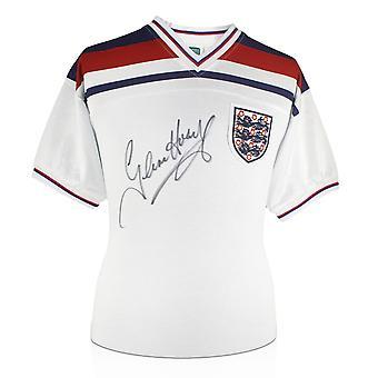 غلين هودل وقع انكلترا 1982 قميص كرة القدم