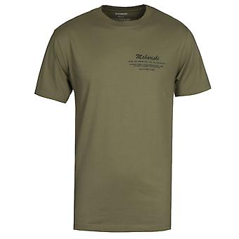 Maharishi Eugenes Jeep Print Organic Olive T-shirt