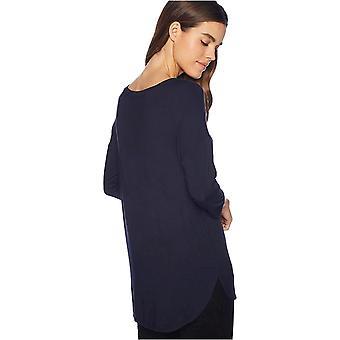 Brand - Daily Ritual Women's Jersey Rib-Trim Drop-Shoulder Scoop-Neck ...