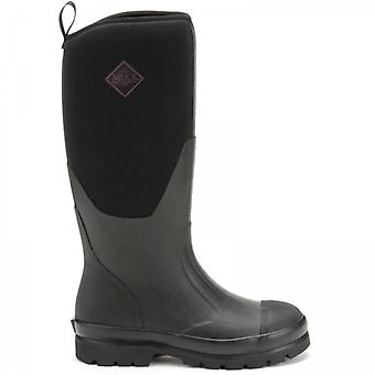 Muck Boots Chore Classic Tall Ladies Rubber Wellington Boots Black