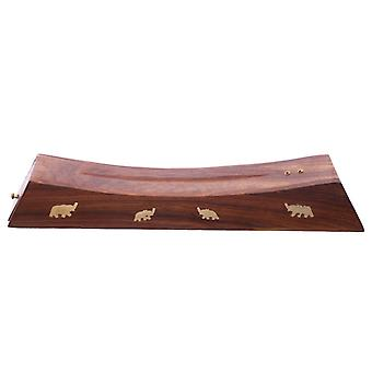 Dekorative Sheesham Holz Weihrauch Stick Elefant Box X 1 Pack