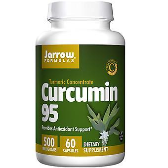 الفورمولا Jarrow Curcumin 95, 500 ملغ, 60 قبعات