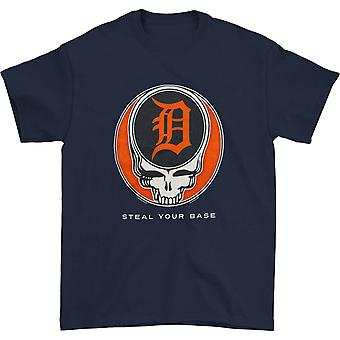 Grateful Dead Detroit Tigers Voler votre base T-shirt