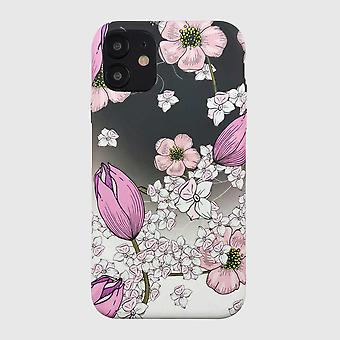 Eco Friendly Printed Floral Pink iPhone 12 Case