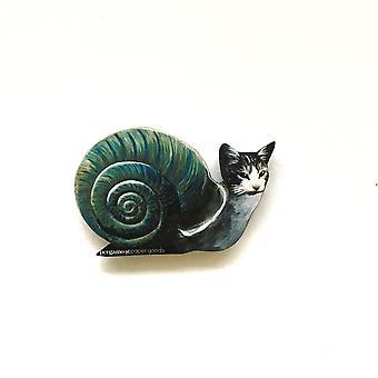 Slakkenkat magneet