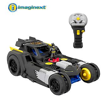 Fisher-price gbk77 imaginext dc super friends transforming batmobile r/c vehicle, multicoloured