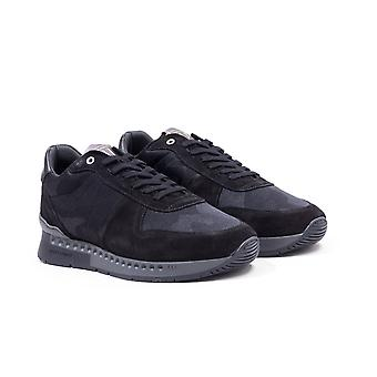 Unlike Humans Surge Runner Black Stealth Camo Trainers