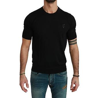 Camiseta Black Bee Embellished Mens Top Cashmere