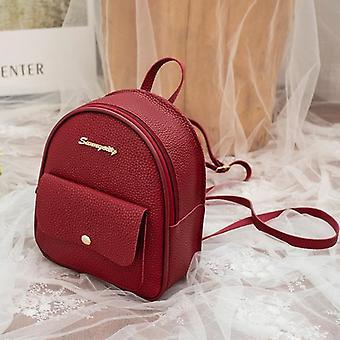 Teenage Kids Multi-function Small Bagpack Female Ladies School Backpack