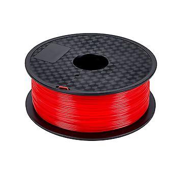 Pla Filament 1,75 mm 1 kg spole for 3d-skriver - rød filament - 3d-utskrift
