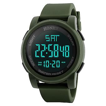 Mannen Digitale Horloges Waterdicht, Sport Quartz Polshorloges Masculino Militaire