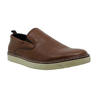 Alfani Herren ronnie Leder Runde Zehen Slip auf Schuhe