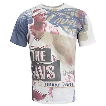 Mitchell & Ness Sublimated Player Lebron James Mens Short Sleeve T-Shirt RW65