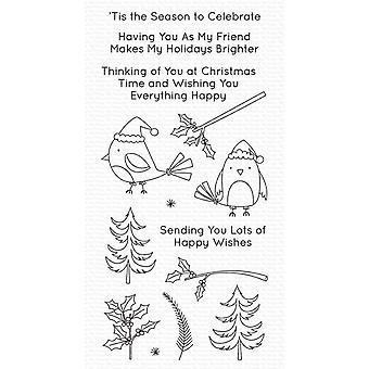 Mijn favoriete dingen Kerst Kardinalen Duidelijke Postzegels