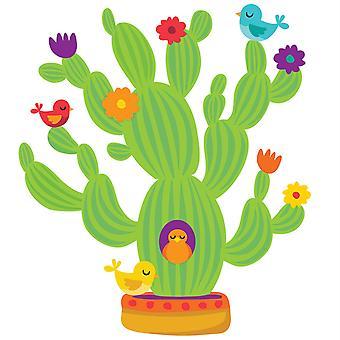Un conjunto de tablones de anuncios de cactus gigantes de Sharp Bunch