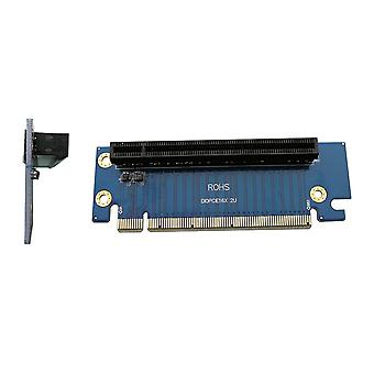 Kalea-informatique pci express riser 16x 2u - specially designed to horizontally install a graphics