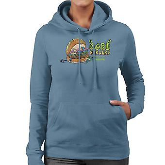 Shrek Ogres Burgers Women's Hooded Sweatshirt