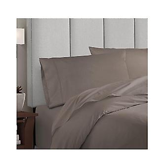 Balmain 1000 Tc Hotel Grade Bamboo Cotton Quilt Cover Set Pewter