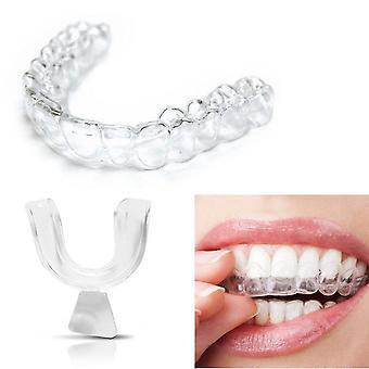 Silikon Nacht Mund Schutz für Zähne Clenching Schleifen, Dental Biss Schlaf