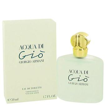 Acqua Di Gio Eau De Toilette Spray By Giorgio Armani 1.7 oz Eau De Toilette Spray