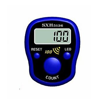 Mini Stitch Marker Row Finger Counter Display Lcd con luce led