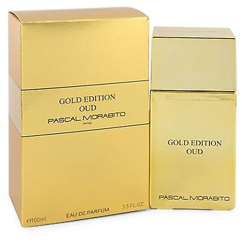 Gold Edition Oud Eau De Parfum Spray By Pascal Morabito 3.3 oz Eau De Parfum Spray