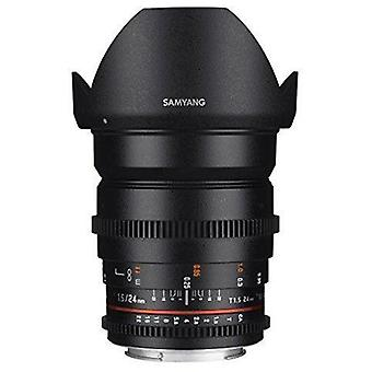 Samyang syds24m-nex vdslr ii 24mm t1.5 wide-angle cine lens for sony alpha e-...