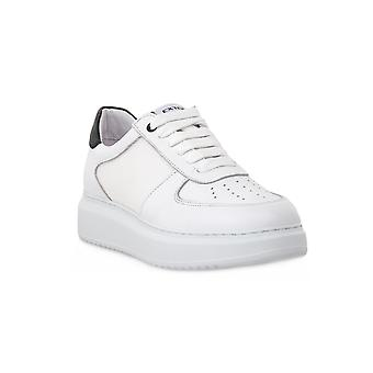 Exton white tassel shoes