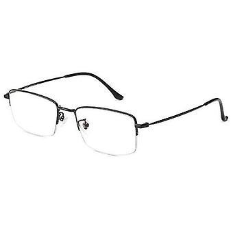 Anty niebieskie światło okulary komputerowe do eye strain relief pół prostokąta