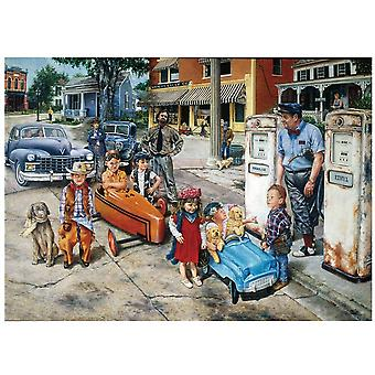 Assembling Picture Puzzle For Adults, Educational
