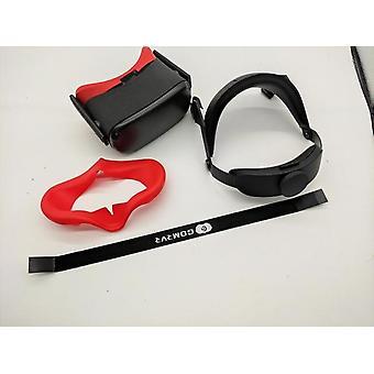Gomrvr oculus quest halo strap ratkaisee kasvojen painetasapainon, mukavat säädettävät ergonomiset virtuaalitodellisuustarvikkeet